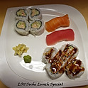 LS11. Sushi Lunch Special