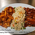 LS3. Teriyaki Chicken & Sweet and Sour Chicken