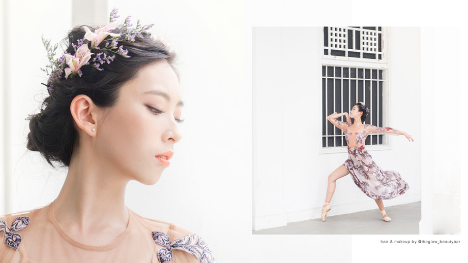 Faye / Balletlove.co x theglowbeautybar