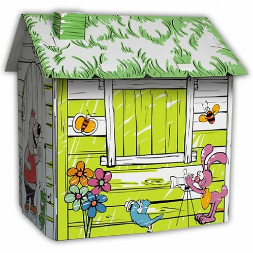Casută carton Happy Farm 88*72*88 m