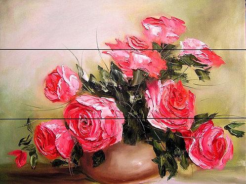 Pictura pe numere pe Lemn PBNW4018  40*50 cm