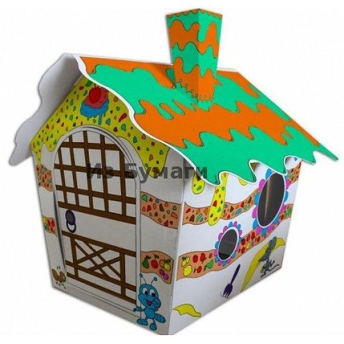 Casută carton Strawberry House 116*73*88 m