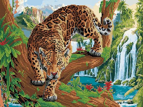 Pictura pe numere Mix combinata cu mozaic cu diamante ACK32 40*50 cm