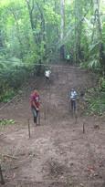 Montaje de unidades de excavación, Canal 2