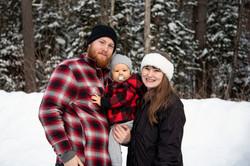 Mitchel, Jess and Liam