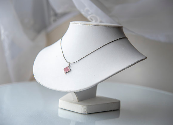 Maple Leaf Chain Necklace