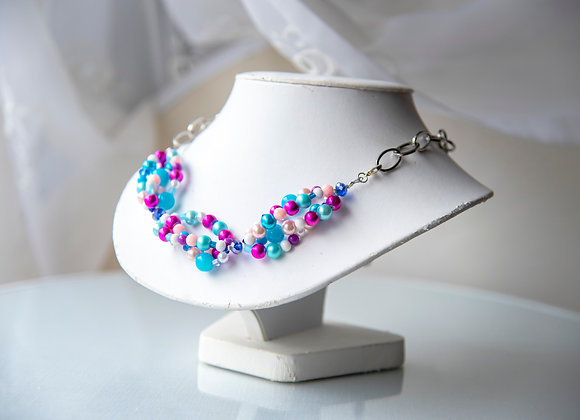 80's Inspired Necklace