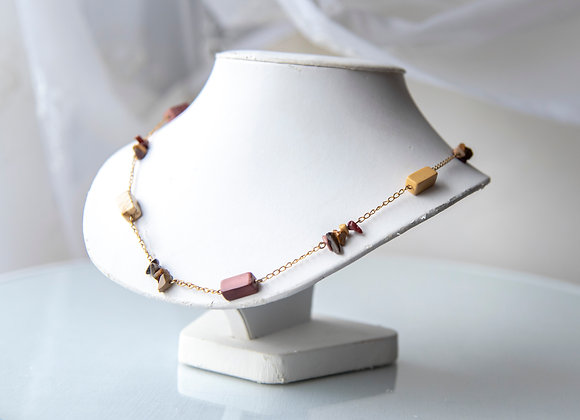 Stone Chain Necklace