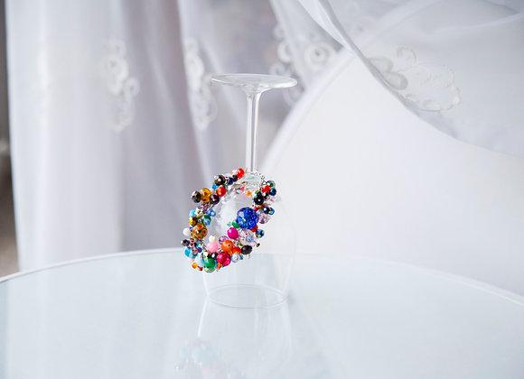 Multi-Coloured Charm Bracelet