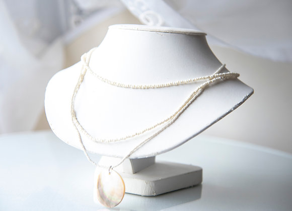 Creamy Shell Necklace