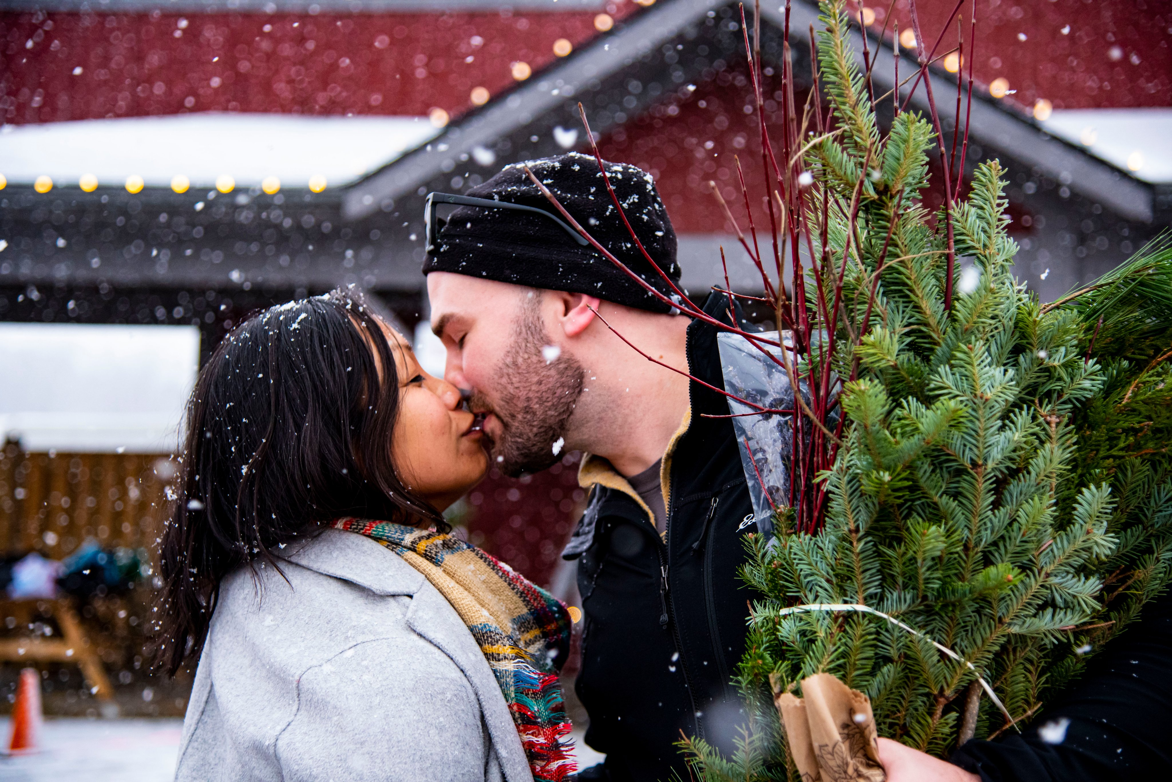 Kiss in the Snow