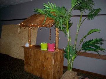 Tiki Themed Gala