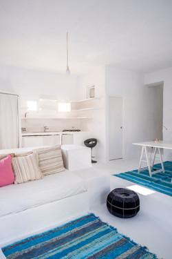 Sitting area in Suite 2
