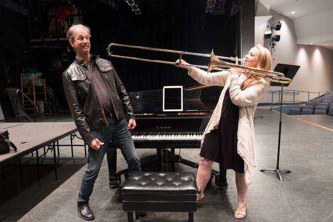 Trombone: musical instrument ... or weapon of mass destruction?