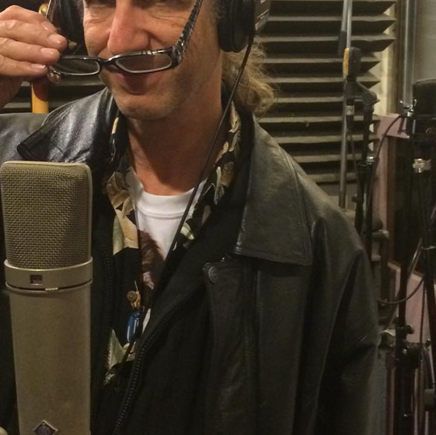 Ron at the Mic