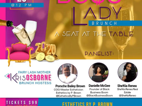 "Boss Lady Brunch 2020: ""A Seat at the Table"""