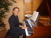 A Ron Levy piano performance.