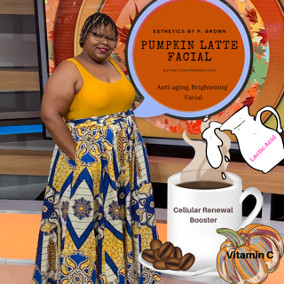 Get Glowing Skin with our Pumpkin Latte Facial