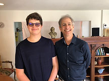 Piano Student with Ron Levy