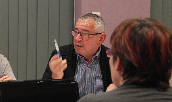 Bernard Barel conseiller municipal à Saint Péran