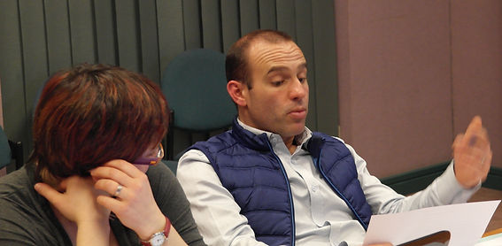 Xavier Faure en conseil municipal à Saint Péran