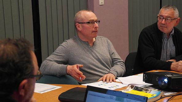 Patrick Lesec en conseil municipal