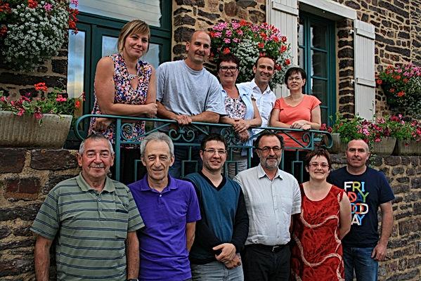Le conseil municipal de Saint-Péran