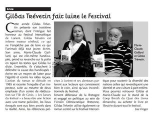 Un papier dans CeltiFest