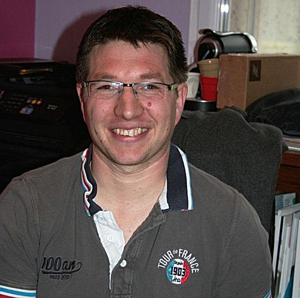Julien Davin, conseiller municipal de Saint Péran