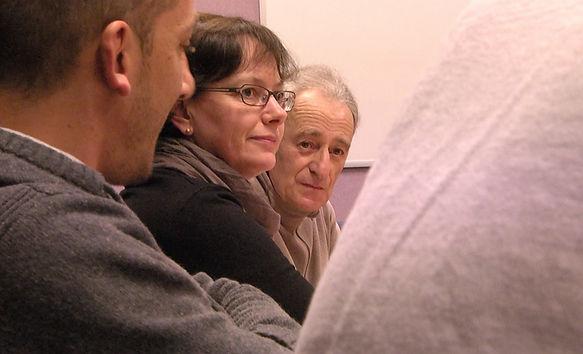 Nathalie Le Luel en commission scolaire