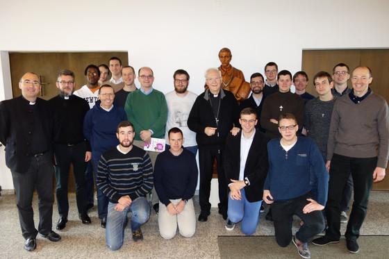 Visite de Mgr Piero Marini