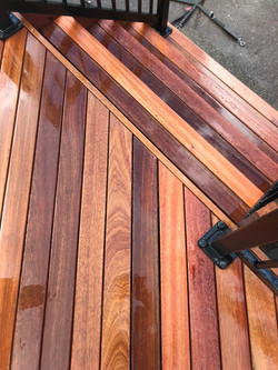 Mahogany Decking