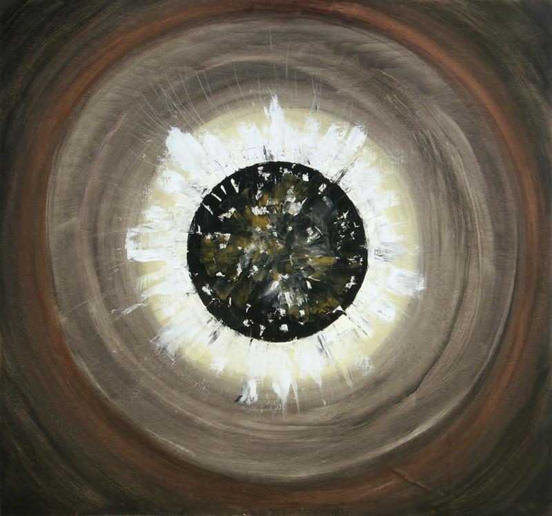Eclipse, 75x80 cm