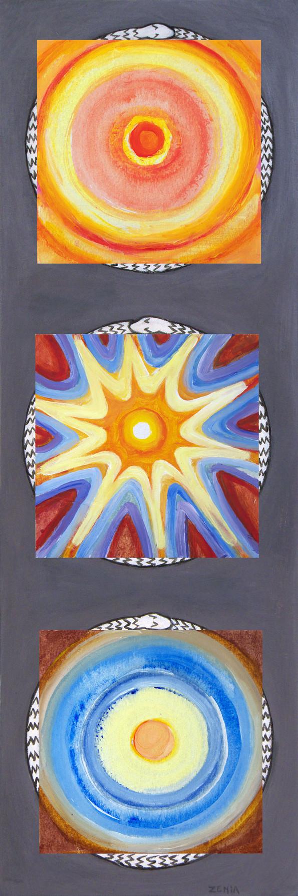 bliss-healing-peace, 26x78 cm