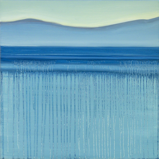 Break of dawn, 50x50 cm