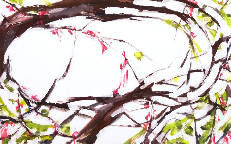 Spring, 60x160 cm