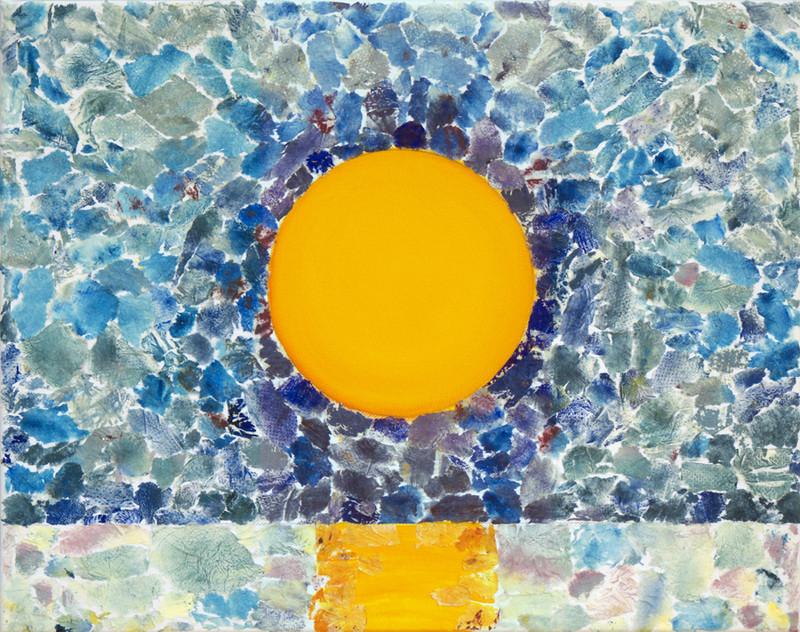 Shades of sunset, 40x50 cm