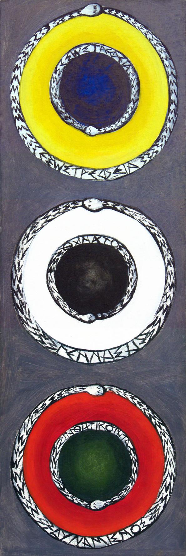 Δίπολα, 2004_Εξωστρέφεια/Εσωστρέφεια, Γέννηση/Θάνατος, Δυναμισμός/Παθητικότητα