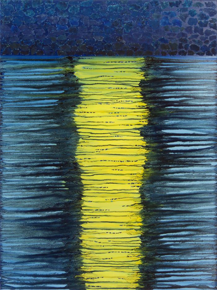 Moonlit, 80x60 cm