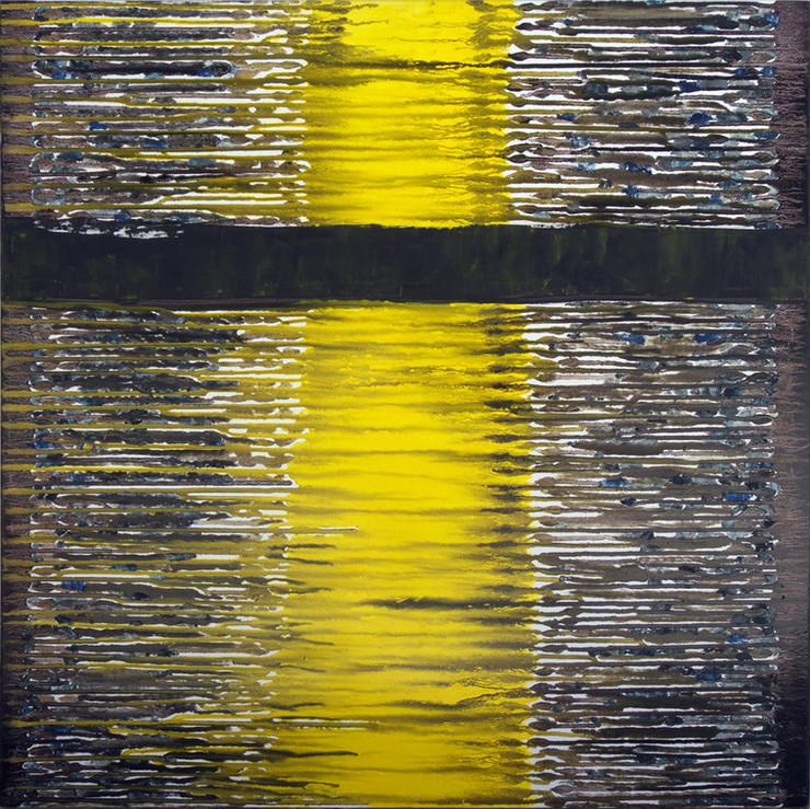 Moonlit, 80x80 cm