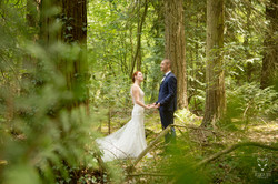 photo mariage forêt