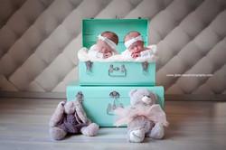 Photo de naissance jumeaux Lyon