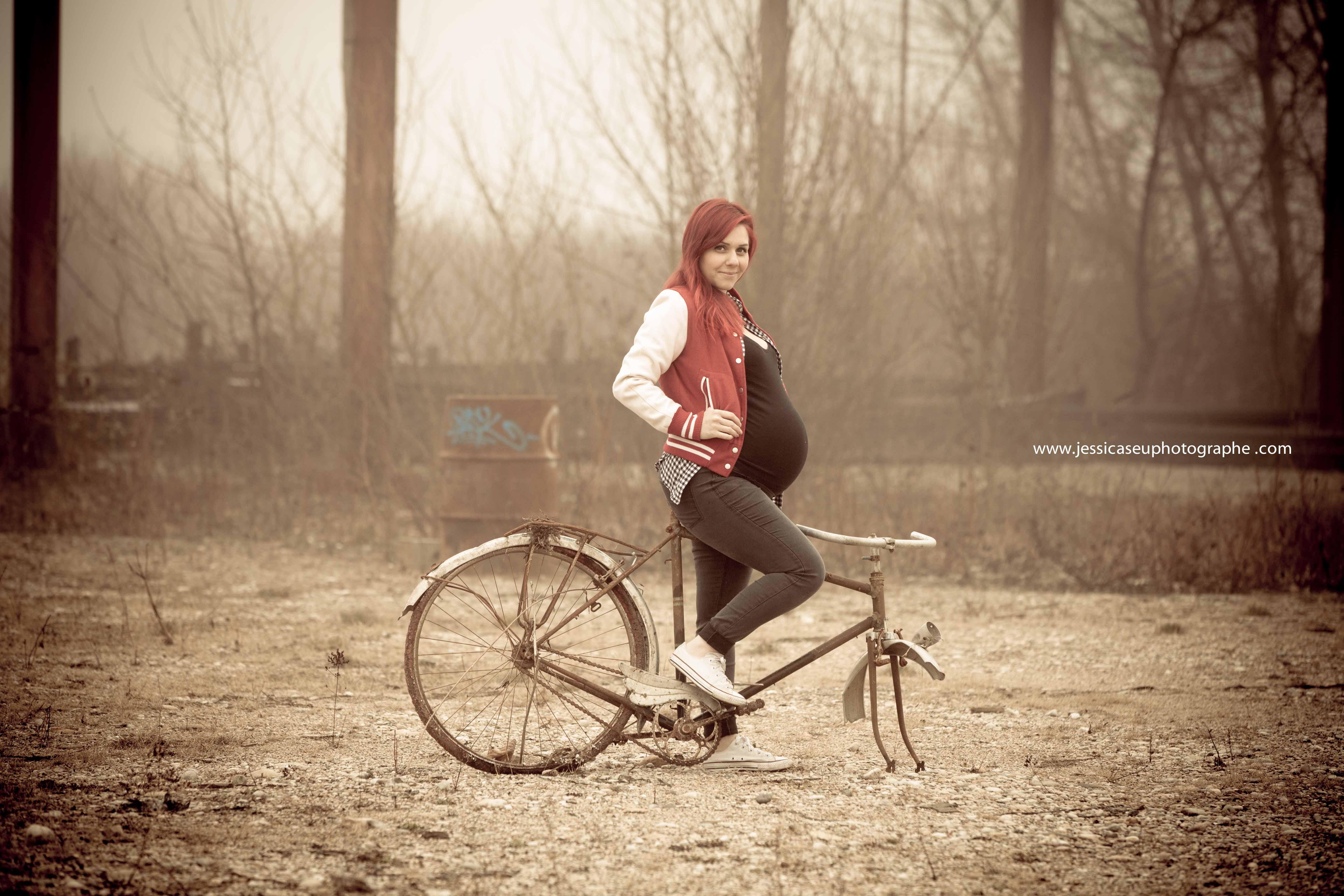 photo de femme enceinte lyon