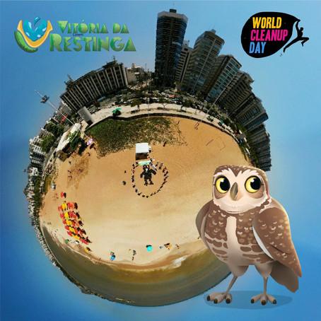 Clean Up Day 2021: Ação do Projeto Vitória da Restinga