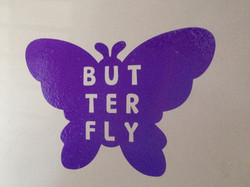 Butterfly vinyl image