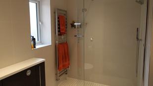 PHS talks; shower enclosures.