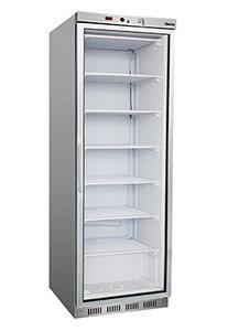 Tiefkühlschrank Glastüre