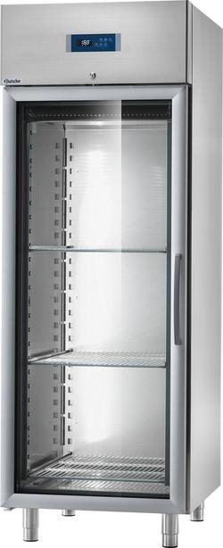 Tiefkühlschrank 700 lt. Glastüre
