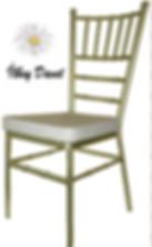 Gold tiffany sandalye kiralama