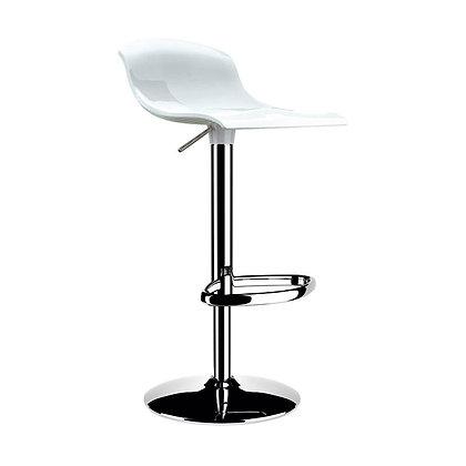 Beyaz Dalga Model (S Model) Bar Sandalyesi